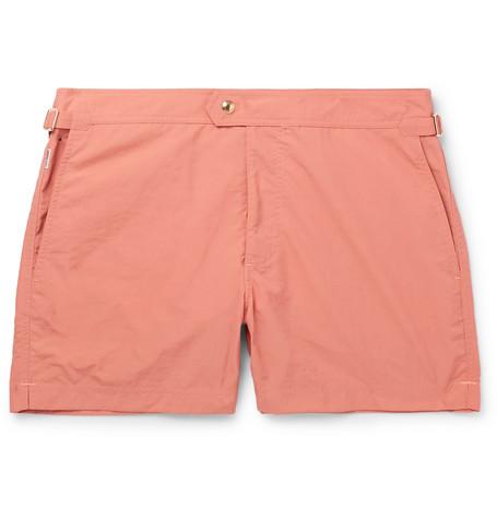 221401570a TOM FORD - Slim-Fit Mid-Length Swim Shorts