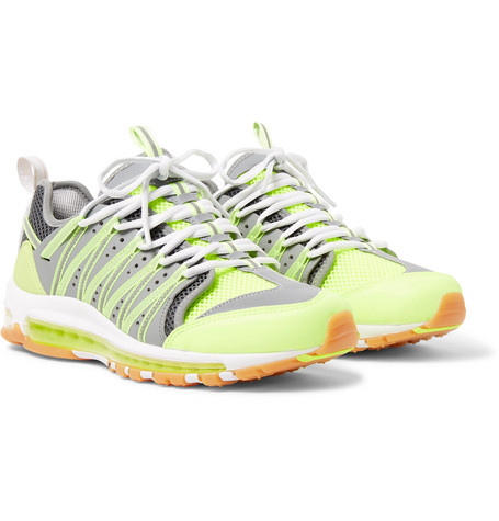 bas prix 3b013 b58c2 Shoptagr | + Clot Zoom Haven 97 Leather And Mesh Sneakers by ...