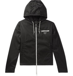 Prada Nylon Hooded Jacket
