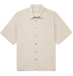 CMMN SWDN - Niels Checked Tech-Jersey Shirt