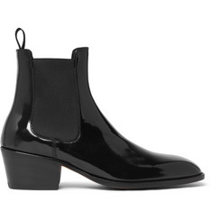 TOM FORD - Webster Patent-Leather Chelsea Boots