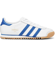 adidas Originals Rom City Series Suede-Trimmed Leather Sneakers