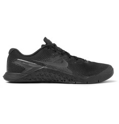Nike Training - Metcon 4 Rubber-Trimmed Mesh Sneakers