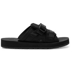 Prada Neoprene-Backed Canvas Slides