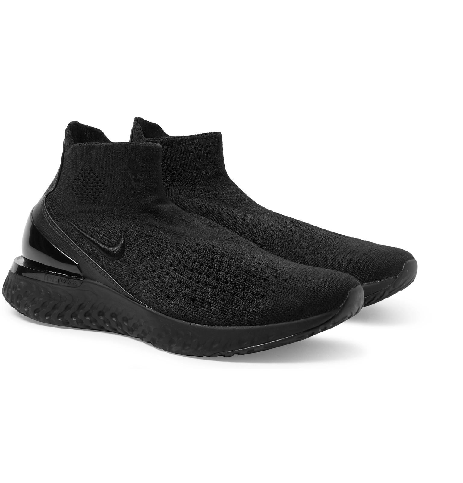 902592e98cf7 Nike Running - Rise React Flyknit Sneakers