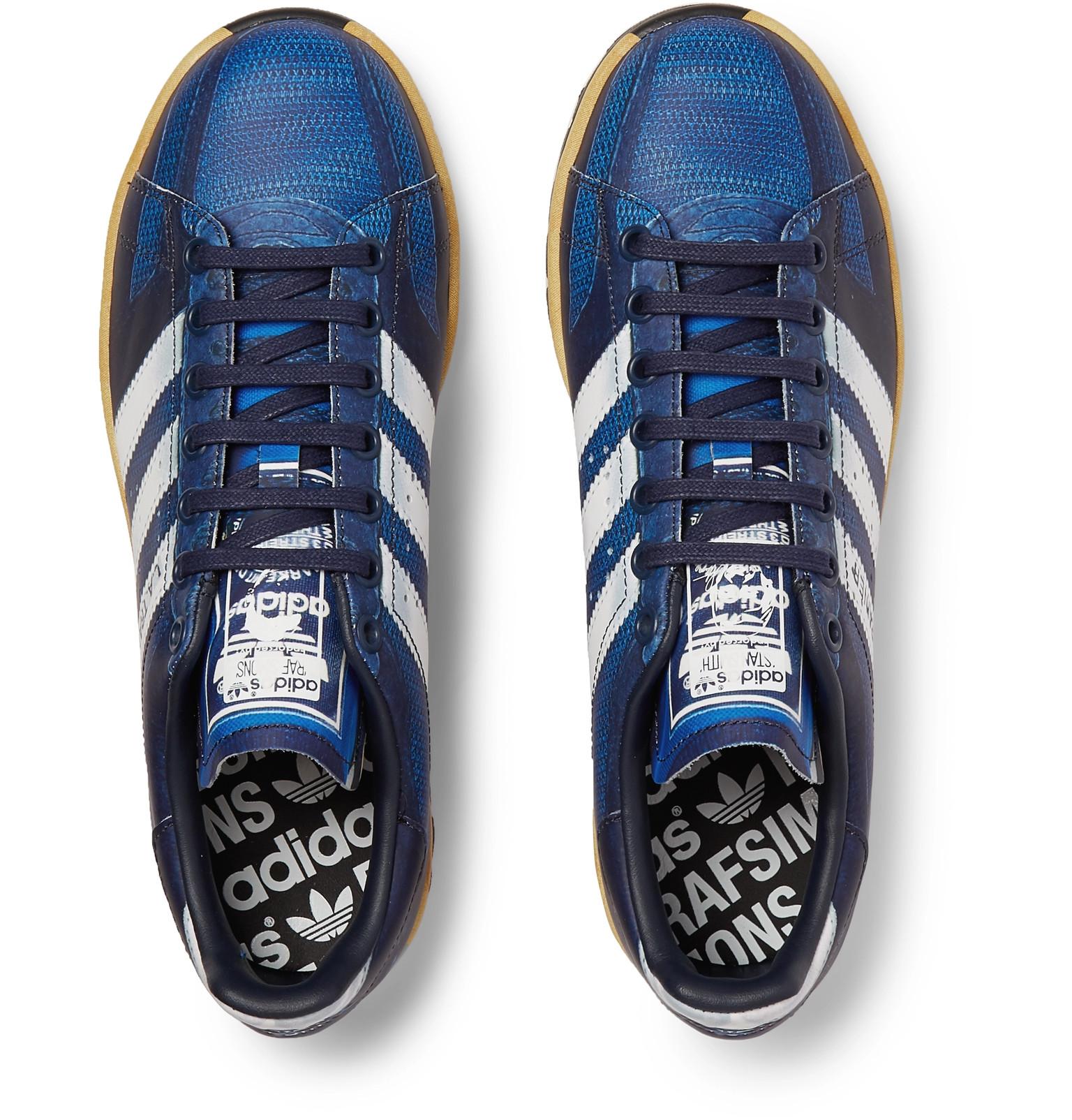 Raf Simons + adidas Originals L.A. Trainer Stan Smith