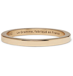 Le Gramme - Le 5 Polished 18-Karat Gold Ring