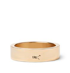 Le 13 Slick Polished 18-karat Gold Ring - Gold