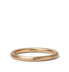 Le Gramme - Le 3 Brushed 18-Karat Gold Ring