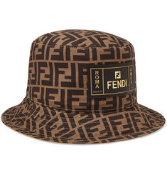 Fendi - Reversible Logo-Print Cotton Bucket Hat b0b0324aaf3