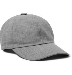 Wool Baseball Cap - Stone