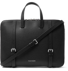 Alexander McQueen - Full-Grain Leather Briefcase