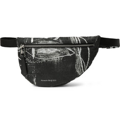 Alexander McQueen - Printed Nylon Belt Bag