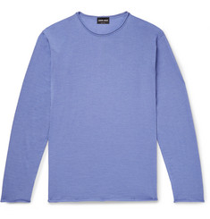 Giorgio Armani Cashmere and Silk-Blend Sweater