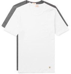 Armor Lux Two-Pack Slim-Fit Cotton-Jersey T-Shirts