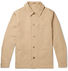 De Bonne Facture Brushed-Cotton Jacket