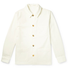 De Bonne Facture Organic Cotton-Twill Jacket
