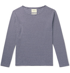 De Bonne Facture Striped Cotton-Jersey T-Shirt