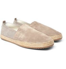 Brunello Cucinelli - Suede and Canvas Espadrilles