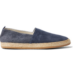 Brunello Cucinelli Suede and Canvas Espadrilles