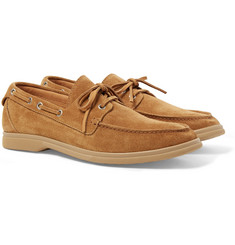 Brunello Cucinelli - Suede Boat Shoes