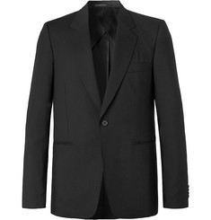 The Row Black Michel Slim-Fit Cashmere Blazer
