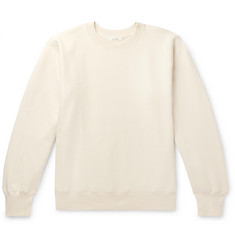 The Row George Loopback Cotton-Jersey Sweatshirt
