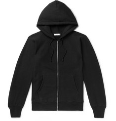 The Row Loopback Cotton-Jersey Zip-Up Hoodie