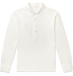 The Row Phillip Cotton Polo Shirt