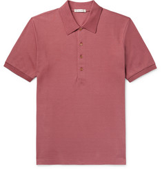The Row Noel Cotton-Piqué Polo Shirt