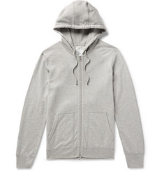 Reigning Champ Mélange Loopback Pima Cotton-Jersey Zip-Up Hoodie