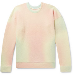 Tie Dyed Cashmere Blend Sweater by The Elder Statesman