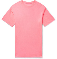 The Elder Statesman Cashmere and Silk-Blend T-Shirt