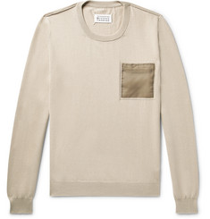Maison Margiela - Shell-Trimmed Cotton Sweater