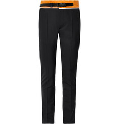 Maison Margiela Slim-Fit Tapered Shell-Trimmed Woven Trousers