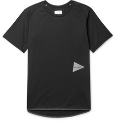 And Wander Logo-Print Jersey T-Shirt