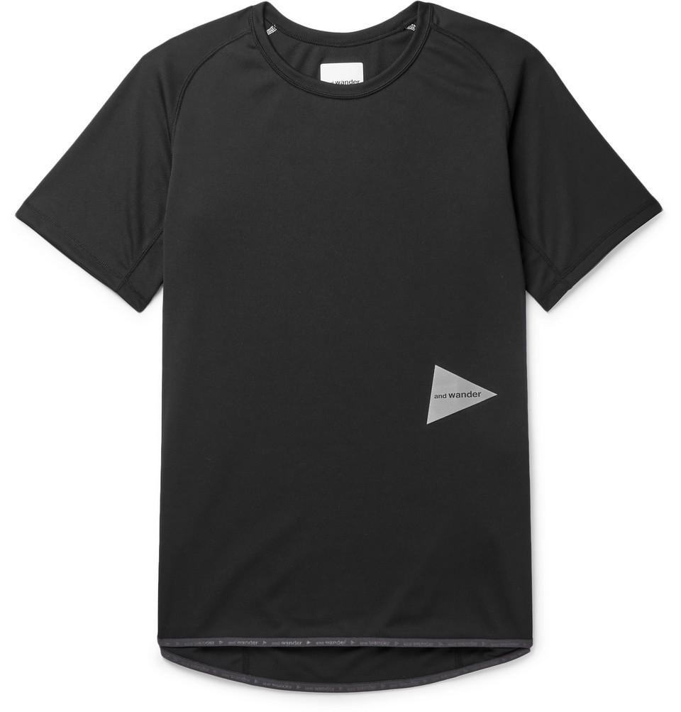 Logo-print Jersey T-shirt - Black
