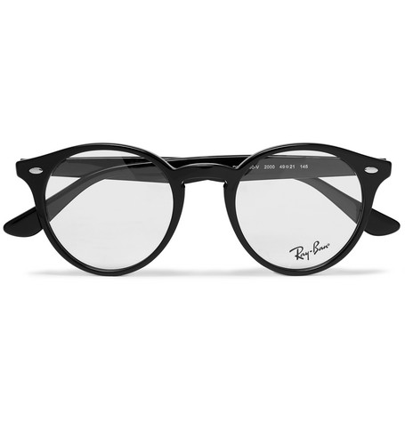 d708d47aba814 Ray-Ban - Round-Frame Acetate Optical Glasses