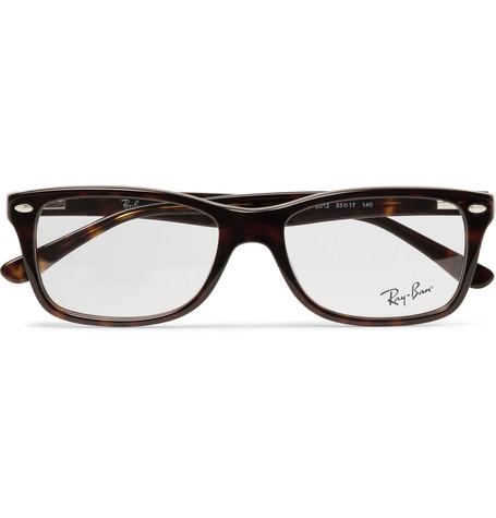 69a8f9b6417 Ray Ban Square-Frame Tortoiseshell Acetate Optical Glasses In Brown