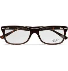 Ray-Ban - Square-Frame Tortoiseshell Acetate Optical Glasses