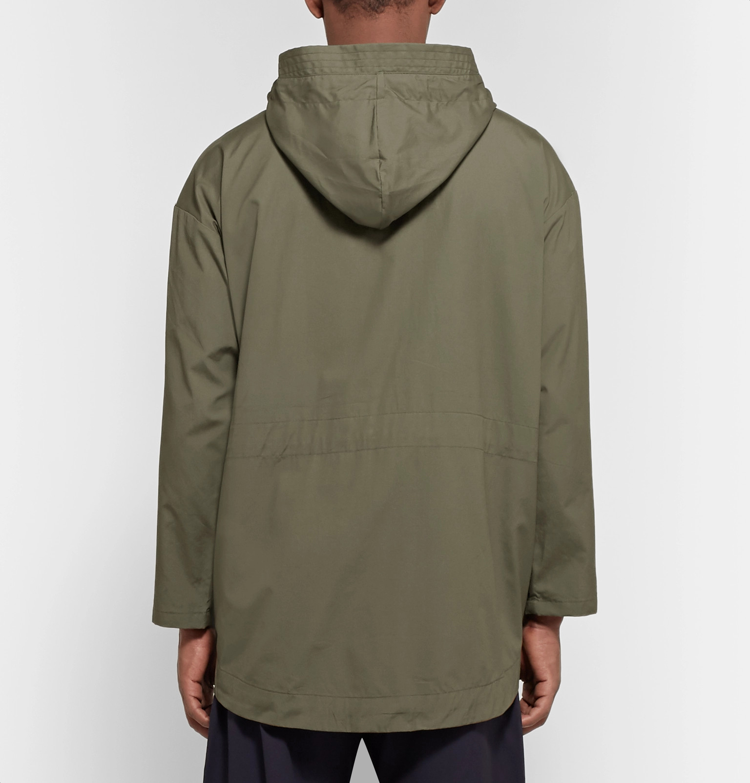 59e0f7b205 Monitaly - Expedition Water-Resistant Cotton-Poplin Hooded Field Jacket