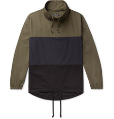 Monitaly Colour-Block Cotton Jacket