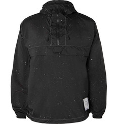 Satisfy Paint-Splattered Shell Hooded Jacket