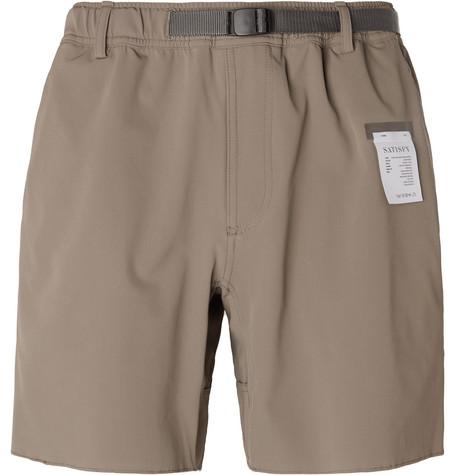 Satisfy Shorts 3XDRY SHORTS - ARMY GREEN