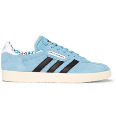 adidas Consortium + Have a Good Time Gazelle Suede and Leather Sneakers