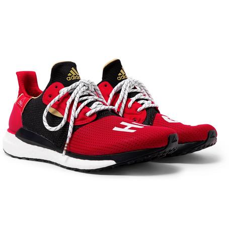 + Pharrell Williams Cny Solarhu Sneakers by Adidas Consortium
