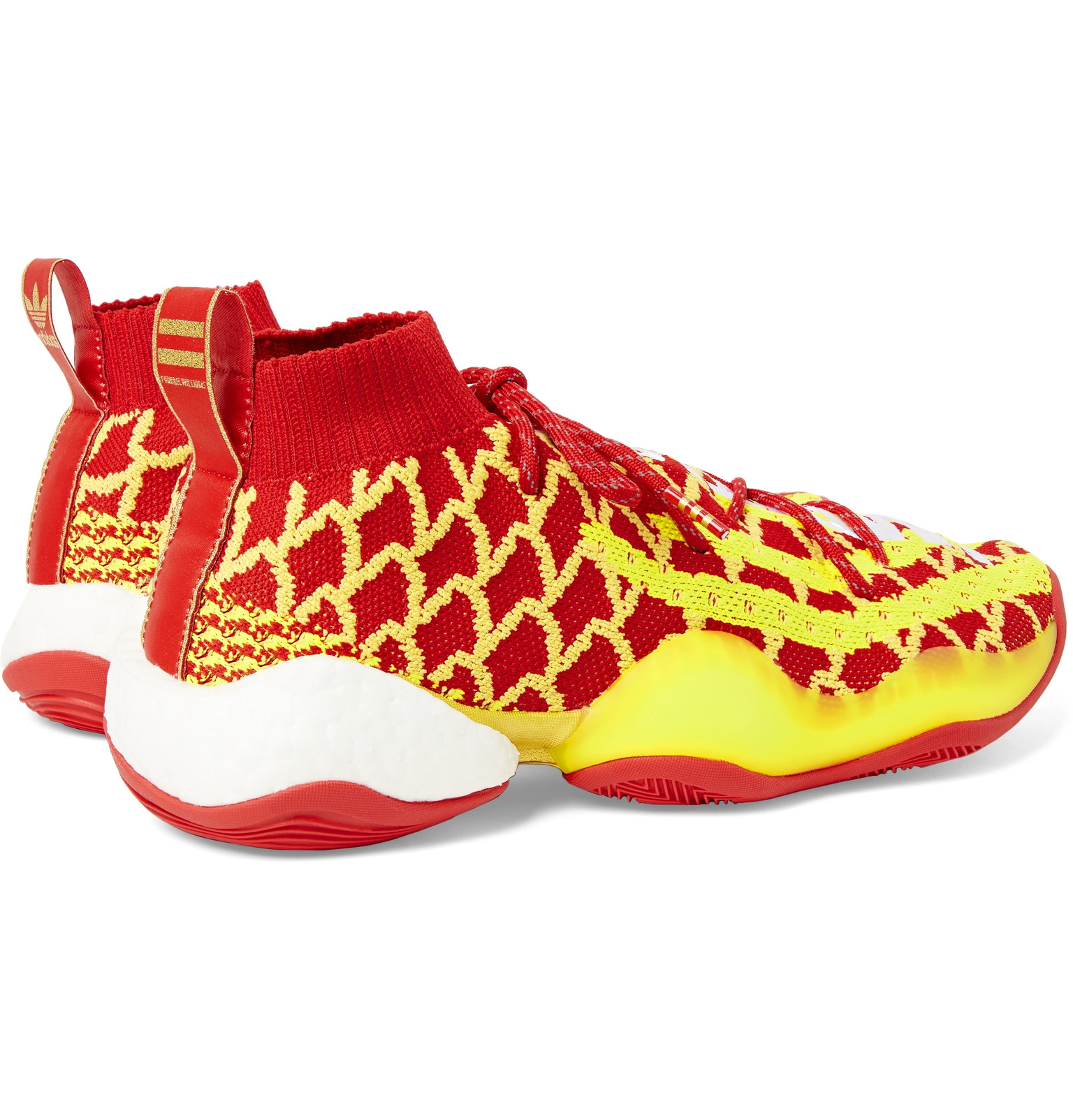 e2bead4d0 adidas Consortium - + Pharrell Williams CNY Crazy BYW Primeknit Sneakers