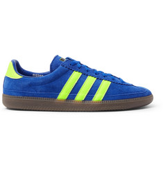 adidas Consortium SPEZIAL Whalley Leather-Trimmed Suede Sneakers