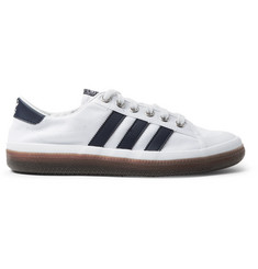 adidas Consortium SPEZIAL Norfu Leather-Trimmed Canvas Sneakers