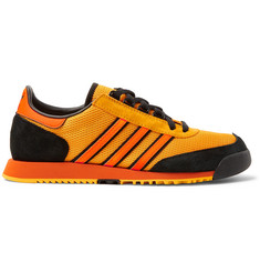 adidas Consortium SPEZIAL SL80 A Suede and Leather-Trimmed Mesh Sneakers